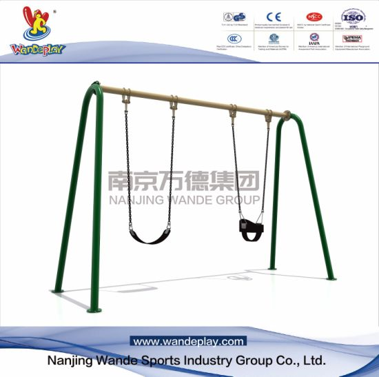 Public Baby Swing Outdoor Playset nel parco