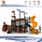 Childrens Outdoor Pirate Ship Playset nel parco