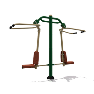 Attrezzature per il fitness all'aperto Challenger Double Pull Down per adulti